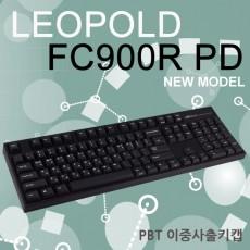 레오폴드 FC900R PD 블랙 한글 넌클릭(갈축)