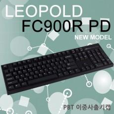 레오폴드 FC900R PD 블랙 영문 클리어(백축)