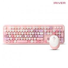 아이리버 EQwear-Q150 키보드 무선 마우스 세트(쥬얼리 핑크)
