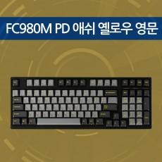 FC980M PD 애쉬 옐로우 영문 리니어흑축