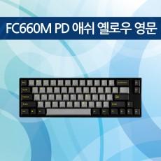 FC660M PD 애쉬 옐로우 영문 리니어흑축