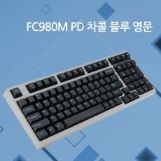레오폴드 FC980M PD 차콜 블루 영문 레드(적축)