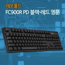 레오폴드 FC900R PD 블랙-레드 영문 클릭(청축-미입고)