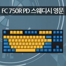레오폴드 FC750R PD 스웨디시 블랙 영문 리니어흑축