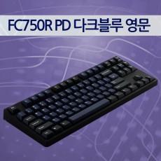레오폴드 FC750R PD 다크블루 영문 레드(적축)