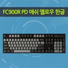 FC900R PD 애쉬 옐로우 한글 레드(적축)