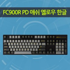 FC900R PD 애쉬 옐로우 한글 넌클릭(갈축)