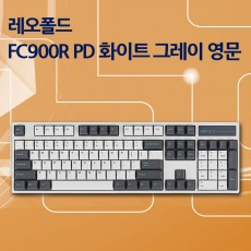 FC900R PD 화이트 그레이 영문 넌클릭(갈축)