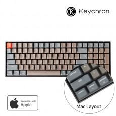 Keychron K4 화이트 LED 맥 애플/윈도우 키보드(블루투스) 한글  - 스위치선택